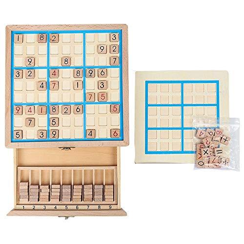 Juguetes - Desarrollo Intelectual padres e hijos juguetes Tres-en-uno Sudoku Juego de ajedrez Ajedrez 4/6/9 Jiugongge memoria - 3 años de edad, niños y las niñas los juguetes de colección exclusiva Mo