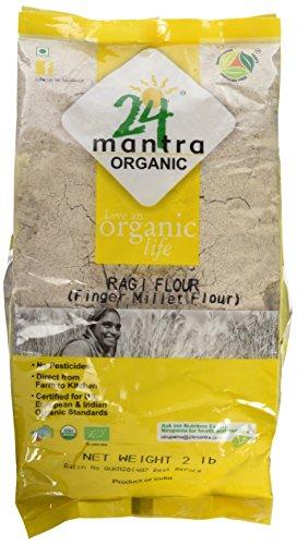 24 Mantara Organic Flour, Ragi, 2 Pound