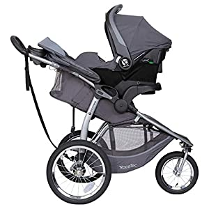 Baby Trend Expedition Race Tec Travel Jogger, Ultra Grey