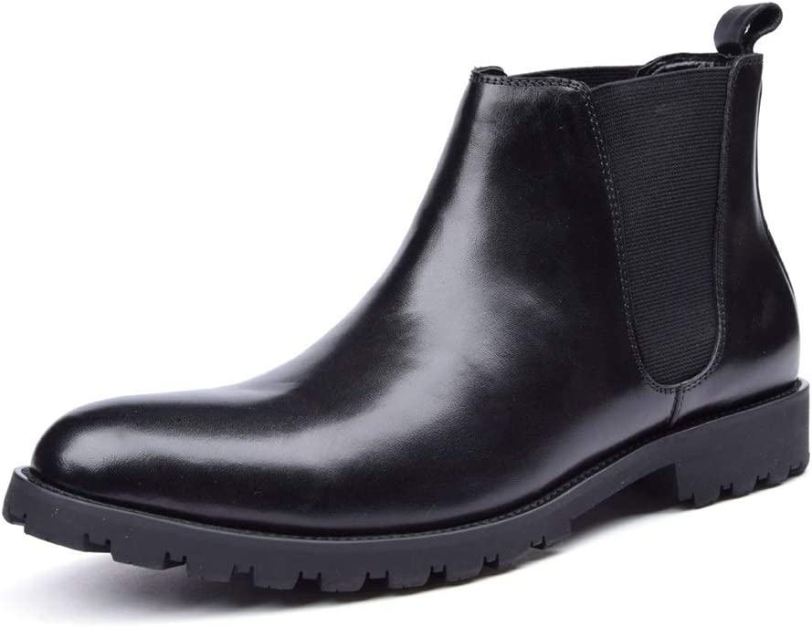 Rui Landed Round Free shipping anywhere in the nation Toe Work Boot Men for Chelsea O Pull Max 44% OFF Ankle