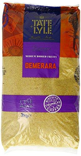 Tate & Lyle Fairtrade Demerara Sugar 3kg Catering