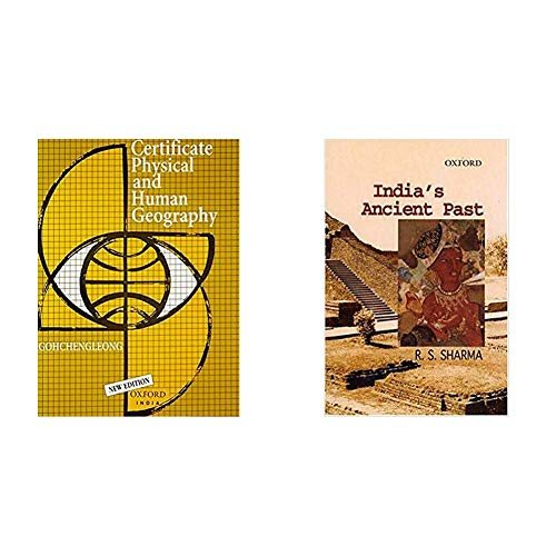 Certificate Physical And Human Geography; Indian Edition + India's Ancient Past (Set of 2 books)