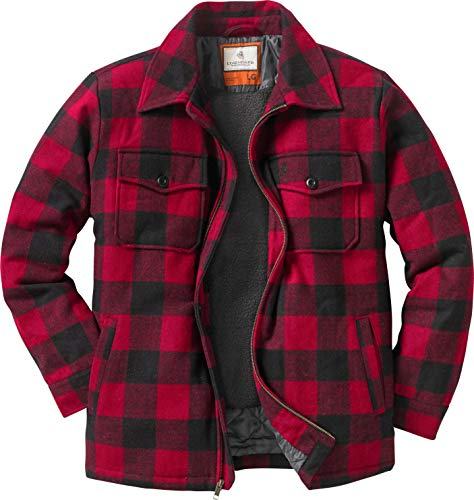 Legendary Whitetails The Outdoorsman Buffalo Jacket Plaid Large