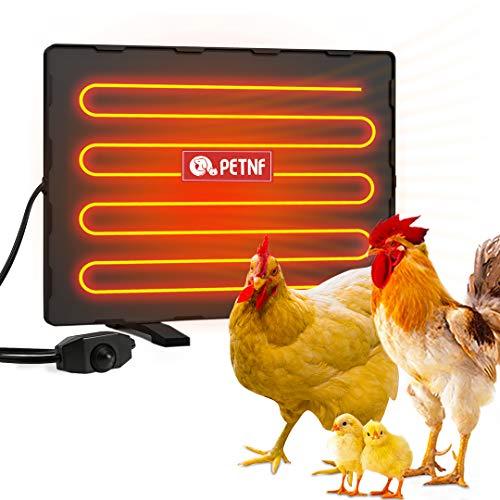 petnf Chicken Coop Heater 140 Watts Radiant Heat Chicken Heater Energy Efficient...
