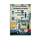 YBQQ Notting Hill Filmposter, Retro-Kunst-Poster,