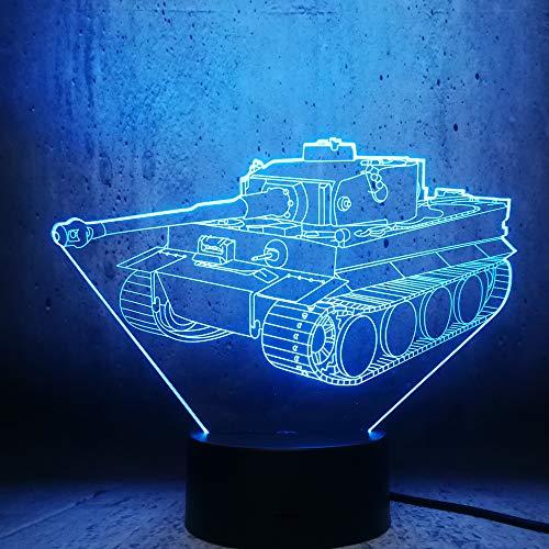 Kjfgkf @ 3D Veilleuse Modèle 3D Led Lampe Night Light Éclairage Cool Gars Cool Meilleur Cadeau D'Anniversaire Room Decor Display Ampoule