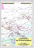 Döpper & Osthoff - Kartenheft mit 15 Navigationsaufgaben und Lösungen zum Sportbootfüherschein See