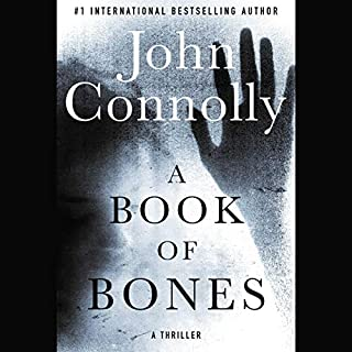 A Book of Bones audiobook cover art