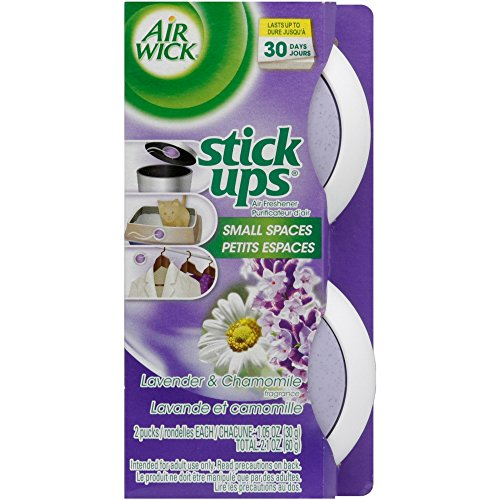 Air Wick Stick Ups Air Freshener, Lavender and Chamomile, 2 ct (Pack of 4)