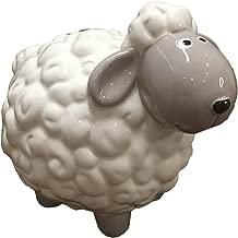 Ceramics Animal Relief Piggy Bank Money Box,Home Decoration -Chicken/Sheep/Dog/Cat/Rabbit