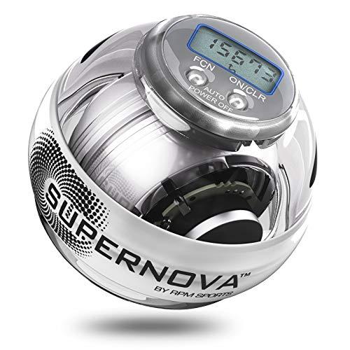 Powerball Supernova - Bola para ejercicio 250 Hz, color transparente