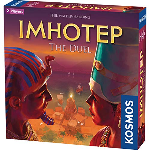 Imhotep: The Duel - A Kosmos Game from Thames & Kosmos | 2-Player Version of Spiel Des Jahres-Nominated Imhotep, Builder of Egypt Board Game