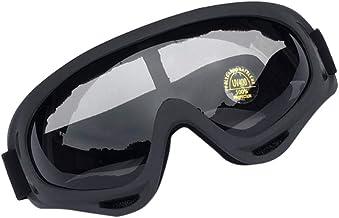 Óculos de proteção BESPORTBLE, óculos de proteção de policarbonato, antirespingos, sem neblina, antiarranhões para mulhere...
