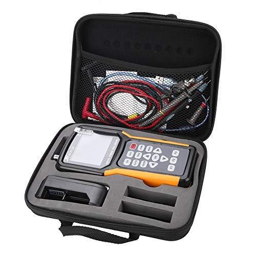Osciloscopio digital portátil TFT 100 – 240 V JDS2012A / JHJDS2022A 200MSa/s con caja de embalaje (enchufe US JDS2012A)