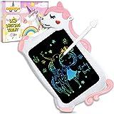 Unicornio Juguete Niños Niñas Regalos - Tableta Escritura LCD Juegos Educativos Juguetes Niña 2 3 4 5 6 7+ Años, Regalos Cumpleaños Navidad Originales Infantil Pizarra Digital Tablet para Dibujo Niños