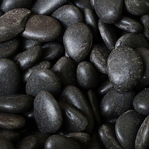 MGS SHOP Dekokies Zierkies Garten Kies Splitt - Farbe wählbar (5 kg, Nero schwarz 20-40)