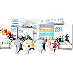 Learn Yoga At Home in 21 Days This program includes: Nutrition Guide, Class Calendar, Quickstart Guide, Beginner Basics, and Pose Tracker Step by step expert instruction with 21 unique classes (each 30 minutes or less) Perfect for beginners Week 1 FO...