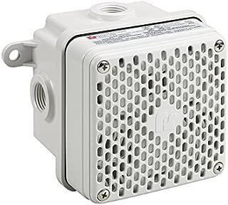 Federal Signal 450EWBX-024 Vibratone Hazardous Location Electronic Horn, 24 VDC, Gray