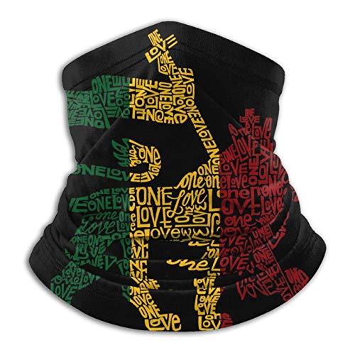 Rasta - Funda para la cara de león – Bufanda para la cabeza, braga para el cuello, pasamontañas para deportes al aire libre
