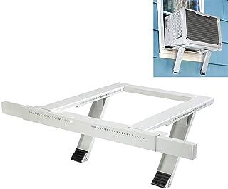 Shelf Bracket Soporte de Aire Acondicionado de Ventana Soporte Universal de Soporte de Ventana de CA: Soporte de Servicio Pesado de hasta 85 LB (7,000 a 18,000 BTU)
