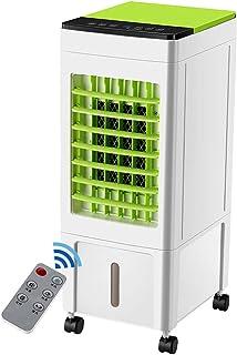 NCBH Filtro del Enfriador de Aire, Ventilador de enfriamiento de Aire Acondicionado móvil, Control Remoto en el hogar Ventilador de enfriamiento de Agua Ahorro de energía AC 220V