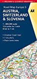 Road Map Austria, Switzerland & Slovenia (Road Map Europe)