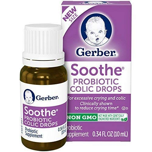 GERBER SOOTHE COLIC DROPS 0.34 OUNCE