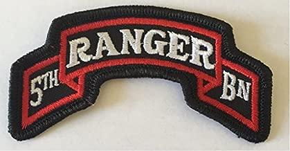 5th Ranger Battalion Patch