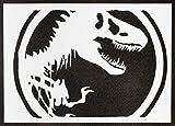 Jurassic Park Poster Plakat Handmade Graffiti Street Art -