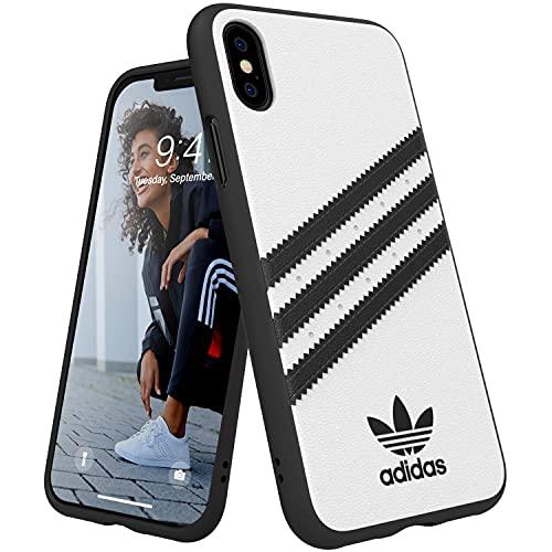 アディダスオリジナルス iPhone X/XS ケース SAMBA (サンバ) ホワイト [adidas OR Moulded Case TPU FW18 for iPhone X/XS white/black SAMBA]