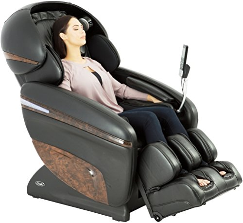 Osaki OS-3D Pro Dreamer A Model OS-3D Pro Dreamer Zero Gravity Massage Chair, Black, Large LCD Display, 3D Massage Technology, 2 Stage Zero Gravity, Computer Body Scan, MP3 Player Connection