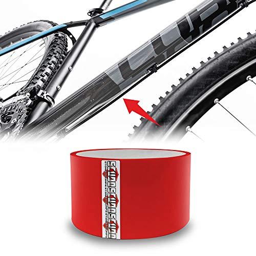 Rotolo Nastro Adesivo Scudo Roll per Protezione Telaio Bicicletta, Spessore 0.8 mm, 5 x 300 cm