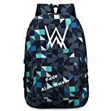 Xcoser Faded High Capacity Alan Walker Backpack School Bag Bookbag Oxford Bag B