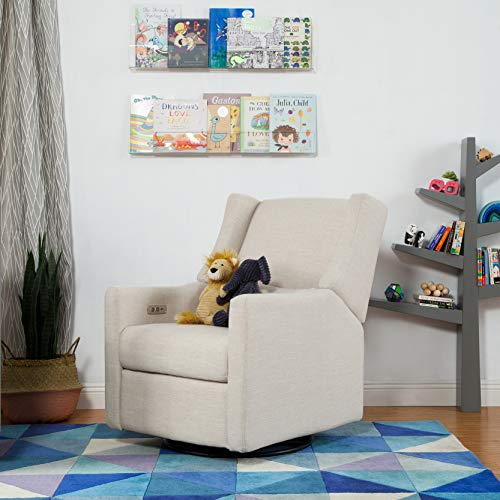 Babyletto Kiwi Electric Power Recliner and Swivel Glider
