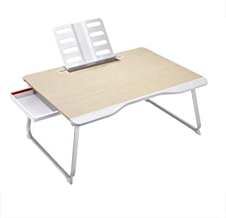 Laptop Table, Simple Laptop Table at Home Lazy Bed Table Folding Desk Portable Notebook Stand, Reading Table Sturdy, Multi...