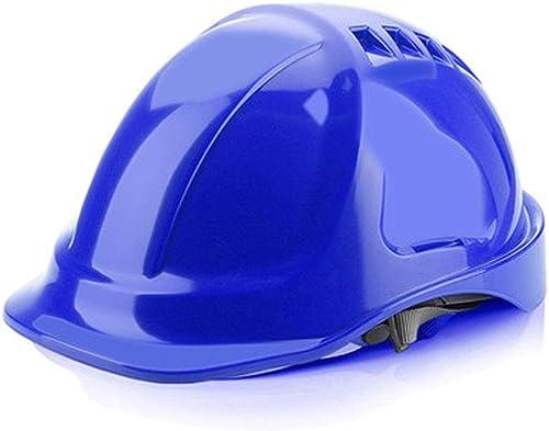 venta al por mayor barato WYNZYTK Casco De Seguridad, Sitio De De De Construcción De ABS De Alta Resistencia Transpirable Casco De Seguro Laboral para Electricistas Opcional  mejor marca
