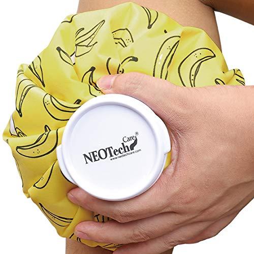 Bolsa de hielo - Tapón de rosca - Marca Neotech Care - Diseño (plátanos, 12cm)
