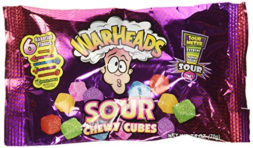 Warheads - Sour Chewy Cubes 70g