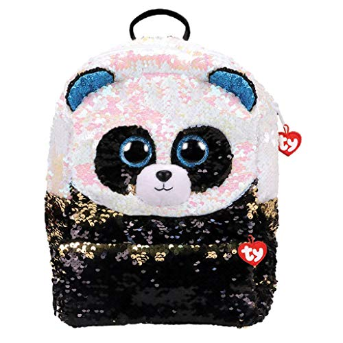 TY Panda Square Kinderrucksäcke Mehrfarbig 35 cm