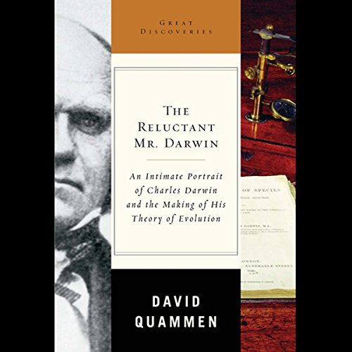 The Reluctant Mr. Darwin audiobook cover art