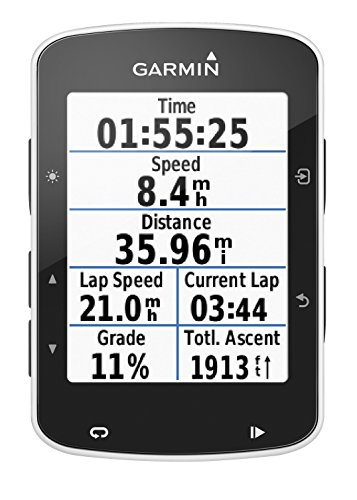 Product Image 3: Garmin Edge 520 Bike GPS (includes Heart Rate Monitor Strap, Cadence sensor & Speed sensor)