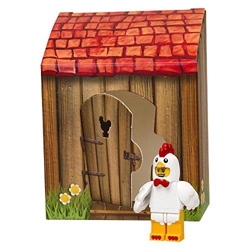 Lego Ostern 2016 - 5004468 Mann im Hühnerkostüm mit kleinem Häuschen - NEUHEIT 2016 - Chicken suit Guy