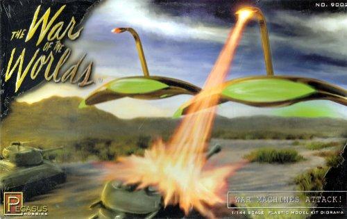 Pegasus Loisirs Martien Guerre Machine Diorama