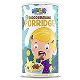 Nature's Finest Porridge de Avena para Niños Malie con sabor a Chocolate y Plátano 250g | Comida Orgánica y Saludable para Niños | Vegetariana y Vegana.