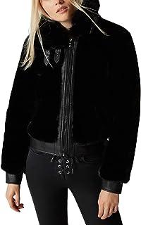 [BLANKNYC] لباس بیرونی کت خز مصنوعی زنانه