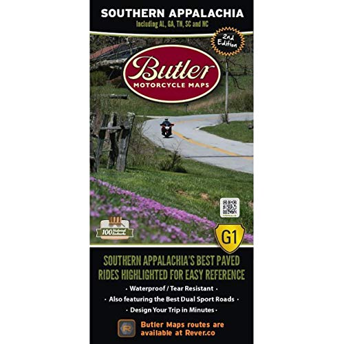 Butler Maps G1 Regional Maps (Southern Appalachia)