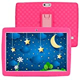 SANNUO Tablet per bambini 10 pollici Android 10.0 tablet, RAM 3GB ROM 32GB,Supporta 3G Dual SIM/wifi/GPS, Batteria 5000mAh,Preinstallato con Kid-Proof Custodia