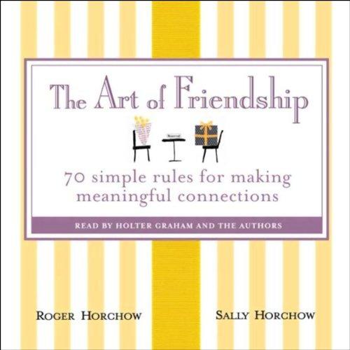 The Art of Friendship audiobook cover art