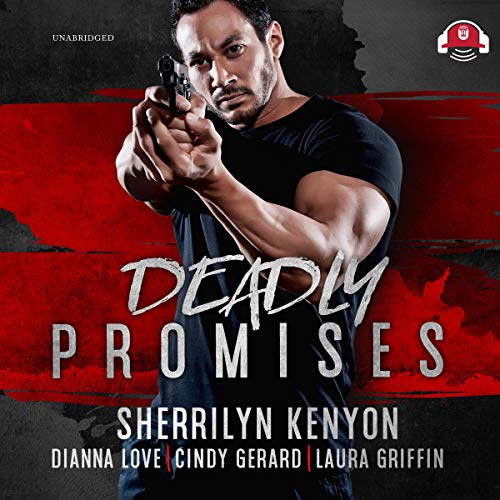Deadly Promises     The BAD Agency Series, Book 5              By:                                                                                                                                 Sherrilyn Kenyon,                                                                                        Dianna Love,                                                                                        Cindy Gerard,                   and others                          Narrated by:                                                                                                                                 Nicole Small                      Length: 10 hrs and 49 mins     1 rating     Overall 4.0