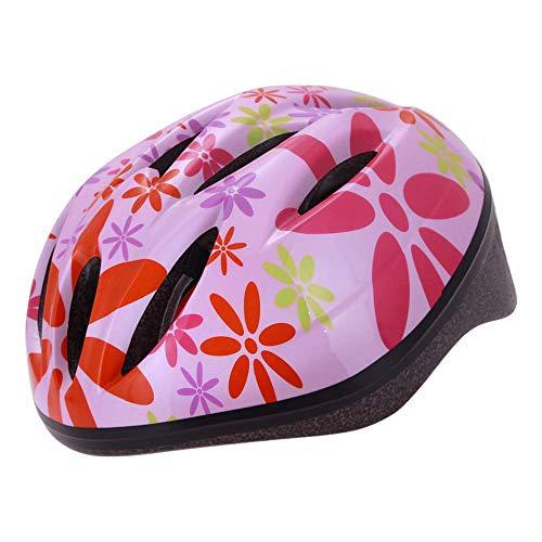 Generic Brands Casco de Bicicleta para niños Casco de equitación para niña...